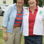 Senator Amy Klobuchar and Debbie Goettel